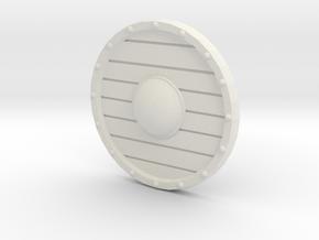 Goblin Basic Shield in White Natural Versatile Plastic