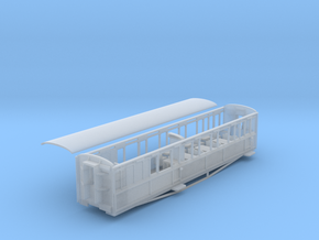 FR Snapper bar buffet coach NO.14 ex L&B (2) in Smooth Fine Detail Plastic
