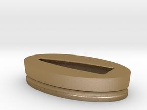 tensho fuchi 41 mm mark2 in Polished Gold Steel