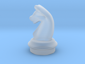 AR3D_Chess Set_00001_Knight in Smooth Fine Detail Plastic