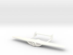 James Bond Golden Gun Matador Coupe Wing in White Processed Versatile Plastic