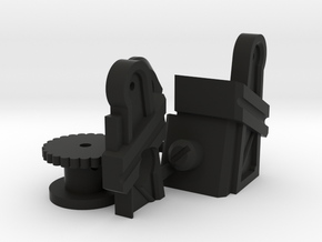 Working Iron Works Winch in Black Natural Versatile Plastic