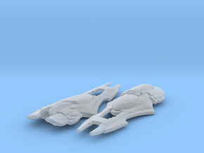 Xindi Primate Ship 1/4800 x2 in Smooth Fine Detail Plastic