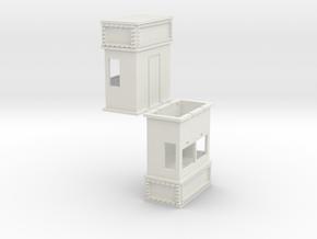Ticket Box- 2 pk in White Natural Versatile Plastic