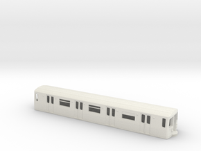 R-68 N scale in White Natural Versatile Plastic: 1:160 - N