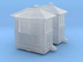 Railway Signal Tower (x2) 1/400 in Smooth Fine Detail Plastic