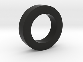 Rear Tire Half for 1/25 RC AMC Gremlin  in Black Natural Versatile Plastic