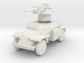 Sdkfz 221 2.8cm sPzB 41 1/87 in White Natural Versatile Plastic