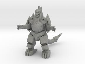 Power Rangers Dragonzord 57mm miniature fantasy in Gray PA12