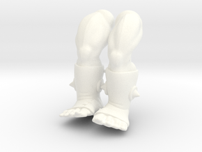 King Ahgo Legs VINTAGE in White Processed Versatile Plastic