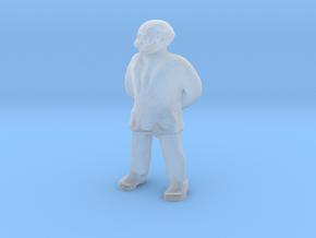 S Scale Professor in Smooth Fine Detail Plastic