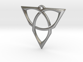 Spektrum Pendant by Nanna Foss: Large in Natural Silver