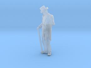 HO Scale Fancy Dan in Smooth Fine Detail Plastic