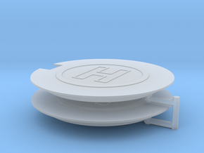 Helipad (x2) 1/350 in Smooth Fine Detail Plastic