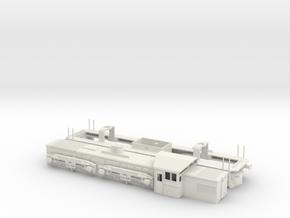 JBM-SLRD-001 Sri Lankan Railways M6 in White Natural Versatile Plastic