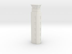 Airport ATC Tower 1/350 in White Natural Versatile Plastic