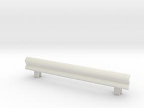Guard Rail 1/24 in White Natural Versatile Plastic