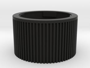 Leica M deep cap in Black Premium Versatile Plastic