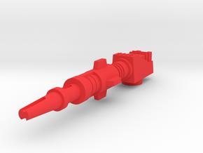 Starcom - Starhawk - Guns in Red Processed Versatile Plastic