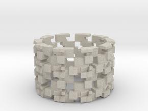 Grinder Ring Size 12 in Natural Sandstone