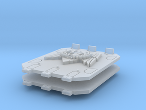 Royal Fists Jericho Tank doors #3 in Smooth Fine Detail Plastic