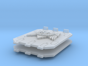Royal Fists Jericho Tank doors #2 in Smooth Fine Detail Plastic