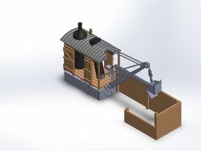 COALING STATION in Smooth Fine Detail Plastic