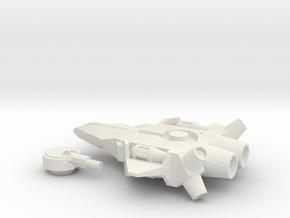 Skyray Aerospace Fighter(Hammer) in White Natural Versatile Plastic
