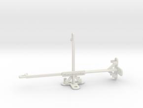 Xiaomi Redmi 9 Prime tripod & stabilizer mount in White Natural Versatile Plastic
