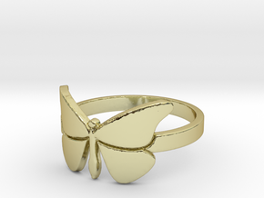 Butterfly (large) Ring Size 9 in 18k Gold