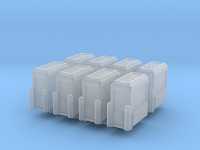 Toll Booth (x8) 1/285 in Smooth Fine Detail Plastic