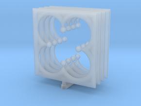 Quatrefoil_Small in Smooth Fine Detail Plastic