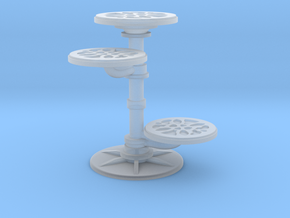 1:18 Tiered Table in Smoothest Fine Detail Plastic