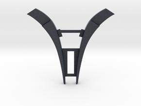 Radlaufeinsatz hinten l/r für ScaleART MAN TGS in Black PA12