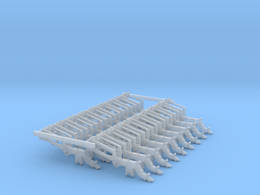 ME5 Long Arm JD HYD DF Large Pieces (18) in Smooth Fine Detail Plastic