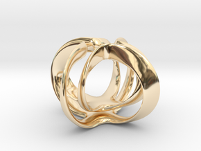 Candle Flower in 14K Yellow Gold