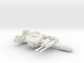 1:144 Tekkadan Space Mobile Worker Gundam: IBO in White Natural Versatile Plastic