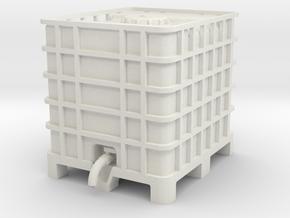 IBC Container 1 12 in White Natural Versatile Plastic