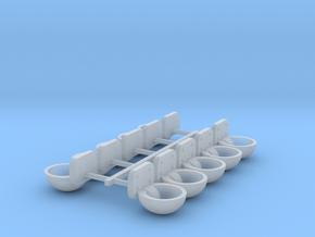 Tränkebecken Satz in Smooth Fine Detail Plastic: 1:32