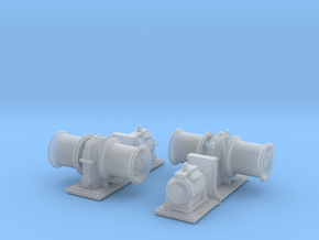 1/200 USS Winch for Battleship SET in Smooth Fine Detail Plastic