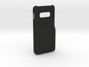 Samsung S10E with RileyLink inlay in Black Natural Versatile Plastic