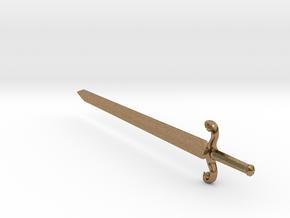 swordSW in Natural Brass