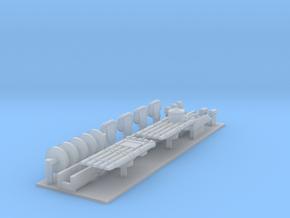 1/600 Bristol Destroyer parts in Smoothest Fine Detail Plastic