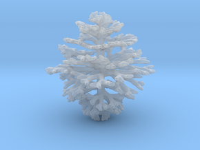 Crystalline Entity 1/150000 in Smooth Fine Detail Plastic