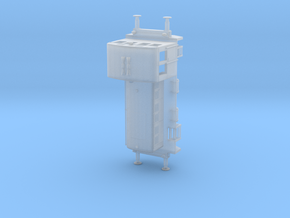 1/120th (TT) scale M-28 diesel engine in Smooth Fine Detail Plastic