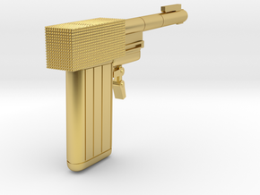 James Bond - Golden Gun -  1.6 in Polished Brass