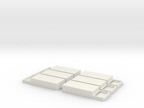 ESU 50321 Clone Double Wide in White Natural Versatile Plastic