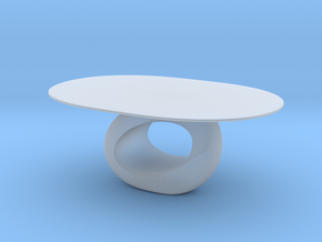 Modern Miniature 1:24 Table in Smooth Fine Detail Plastic: 1:24