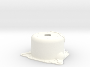 "1/8 Lenco 8.625"" Dp Bellhousing(With Starter Mnt) in White Strong & Flexible Polished"