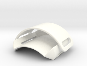 Pen Brace in White Processed Versatile Plastic